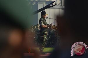 Panglima TNI buka Latgab 2014