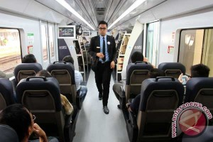 Kereta tanpa awak Bandara Internasional Soekarno-Hatta diuji coba