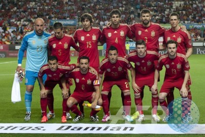 Spanyol benamkan Luksemburg 4-0