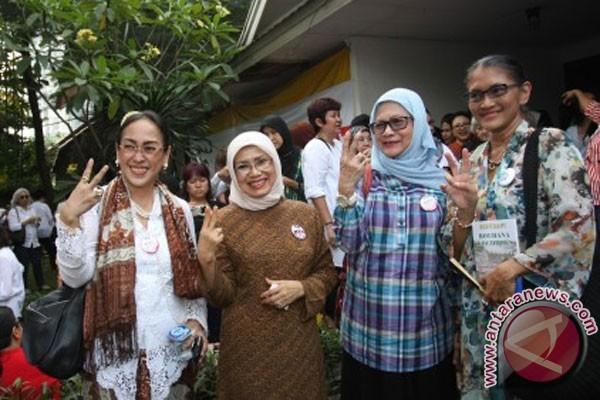 Capres dan Cawapres Joko Widodo-Jusuf Kalla di Jakarta, Senin (2/6