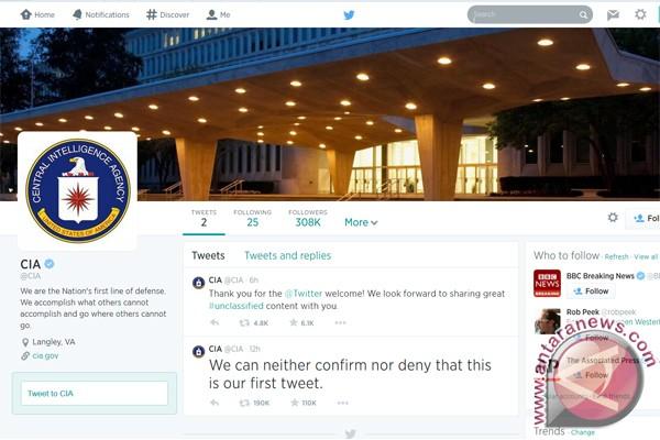 Badan intelijen Amerika rambah Facebook dan Twitter