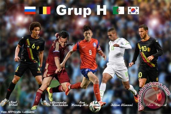 Lima pemain menonjol di Grup H Piala Dunia