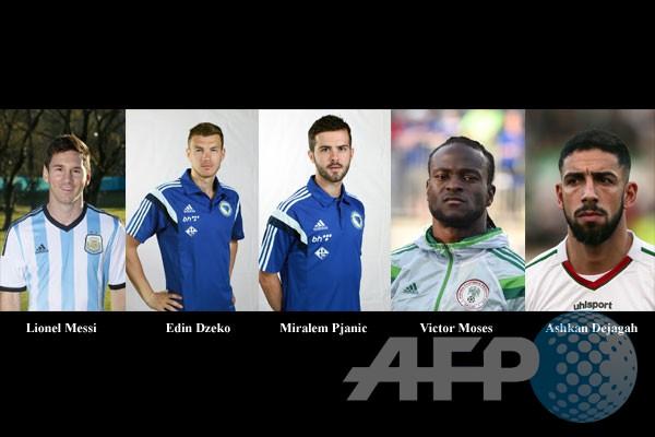 Lima pemain menonjol di Grup F Piala Dunia