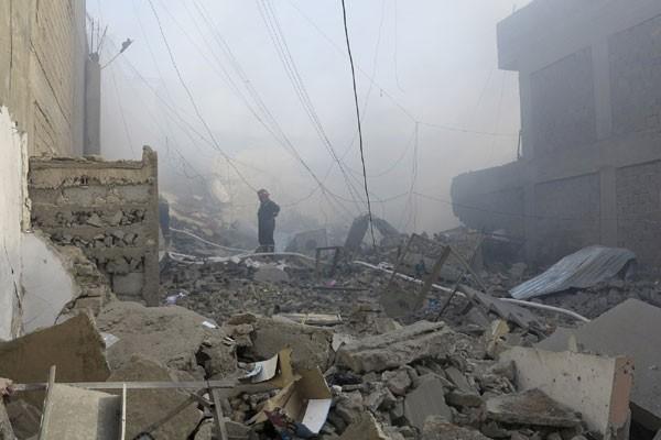 Bom bunuh diri tewaskan 37 di Irak barat