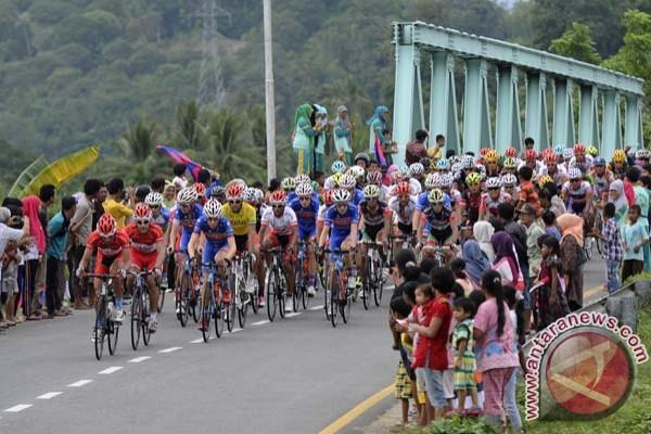 Tour de Singkarak diikuti 36 negara
