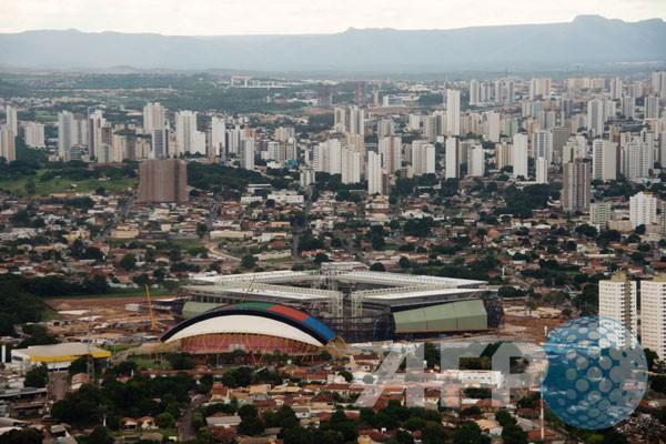 Arena Pantanal, stadion baru bertema lingkungan