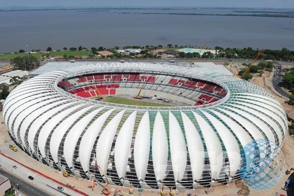 Estadio Beira-Rio bukti semangat Brasil