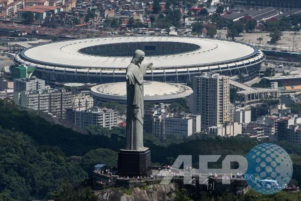 Stadion Maracana penghajat laga final
