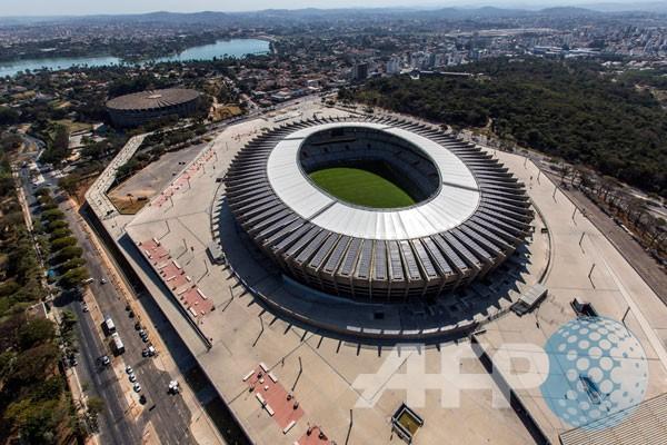 Estadio Mineirao mendaur ulang air hujan