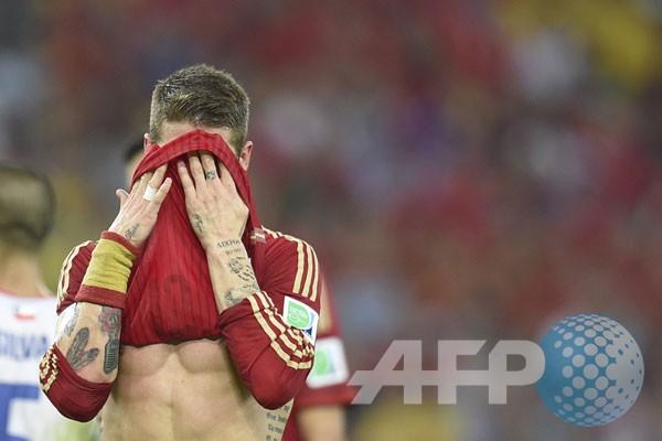Lima alasan Spanyol tampil buruk di Brasil