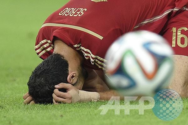 Juara Bertahan Spanyol Tersingkir