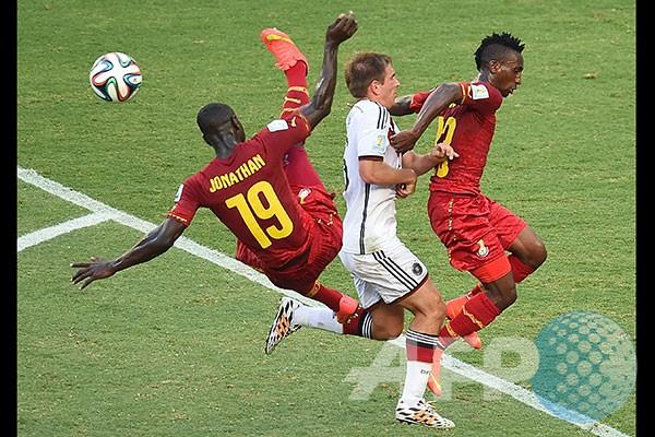 Jerman Vs Ghana Berakhir Imbang