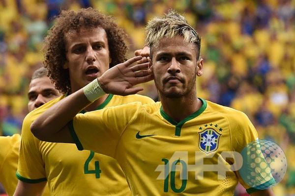 Kemas dwigol, Neymar pemain terbaik Kamerun kontra Brasil