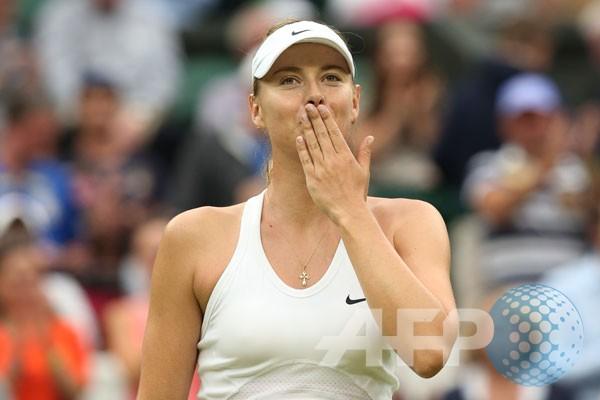 Sharapova melaju ke perempat final Tianjin