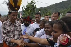 Presiden Jokowi akan resmikan proyek pembangunan di Papua