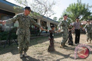 Latihan Bersama Pacific Partnership 2014 sukses