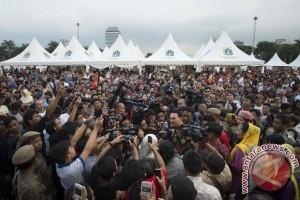 Pekan Rakyat Jakarta sisakan 48 ton sampah