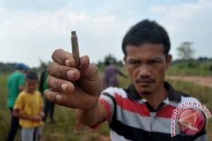Personel TNI AU tidak lepas tembakan di Palembang