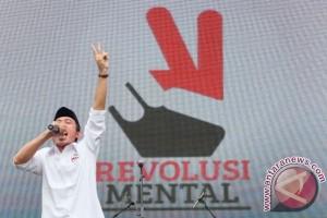 Seni budaya revolusi mental Presiden Jokowi digelar