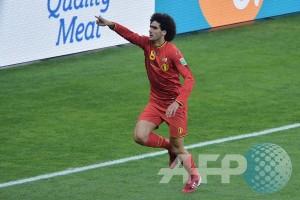 Mourinho terkejut Belgia mainkan Fellaini