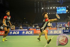 Owi/Butet melaju ke semifinal Singapura Terbuka
