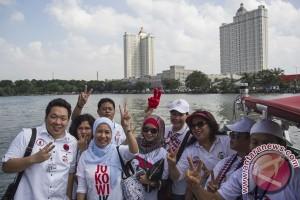 HUT Jokowi Mancing Bersama