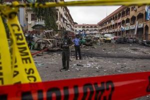 Dua pembom bunuh diri tewaskan 22 orang di masjid Nigeria