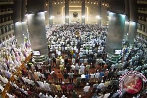 Masjid Istiqlal buka empat gerbang untuk shalat ied