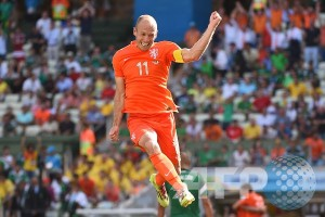 Robben gantikan van Persie sebagai kapten Belanda
