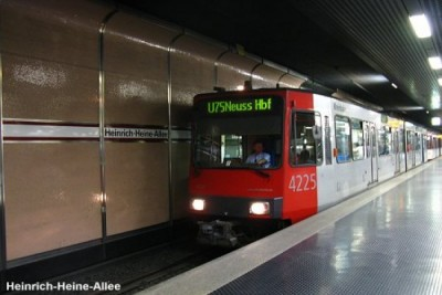 Chemical accident in Dusseldorf subway station