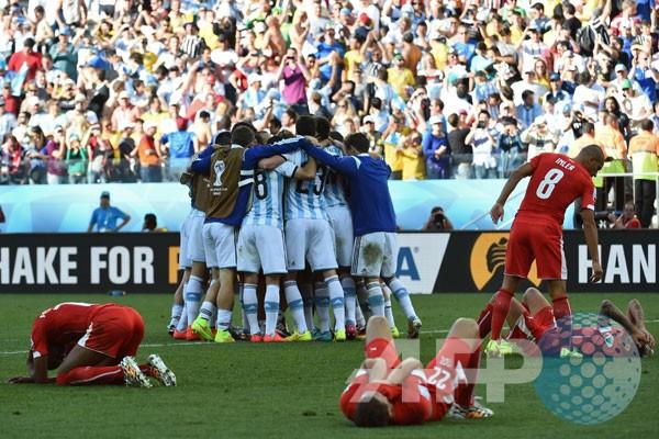 Hasil 16 Besar dan jadwal perempat final Piala Dunia 2014