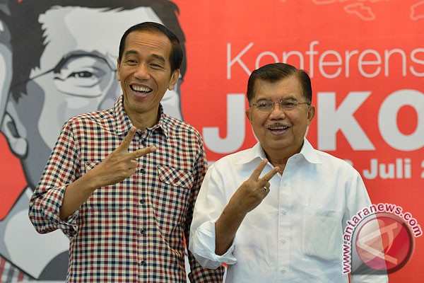 Joko Widodo-Jusuf Kalla win Indonesia`s 2014 presidential election