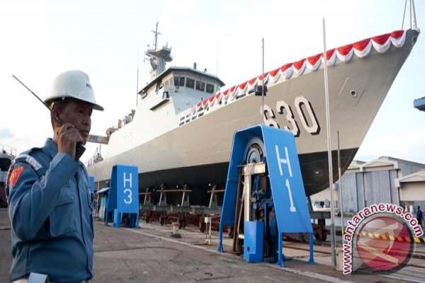 Kapal perang Indonesia mulai dilirik negara tetangga