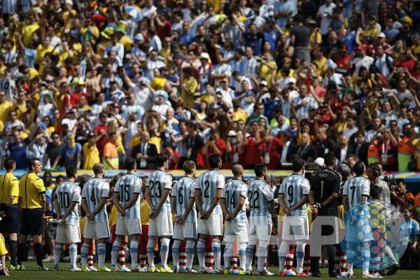 Susunan pemain Argentina vs Belgia