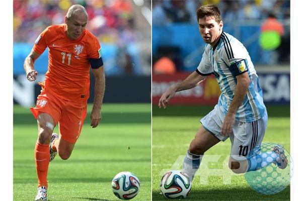 Belanda versus Argentina: pembuktian dua jenius
