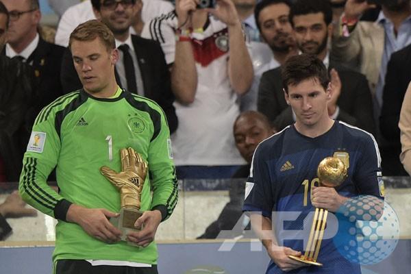 Messi tetap terbaik sepanjang masa