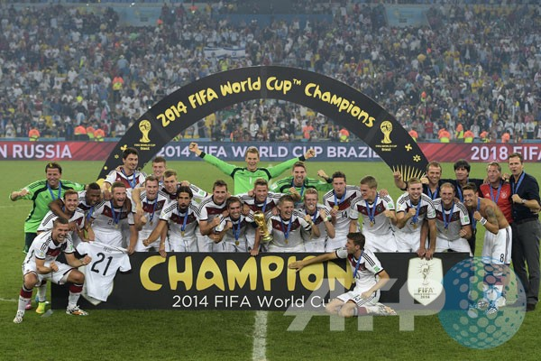 Tim-tim juara Piala Dunia hingga sekarang