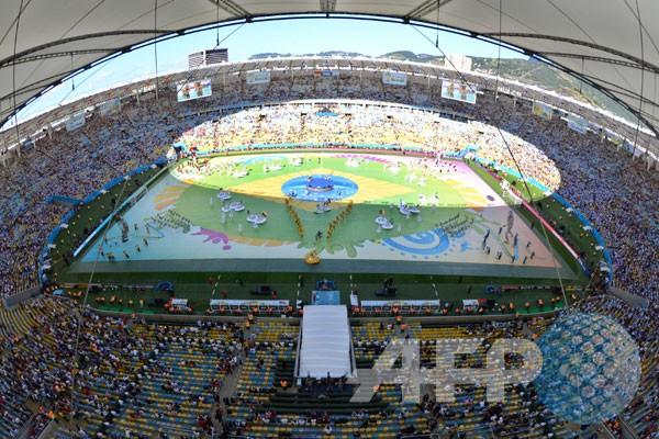Upacara Penutupan Piala Dunia 2014