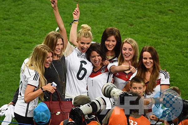 WAGs turut rayakan Jerman jadi juara dunia