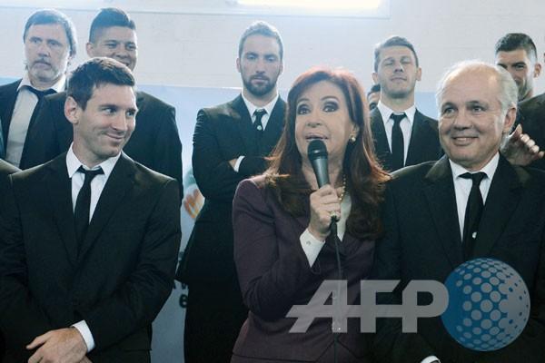 Presiden Argentina bujuk Messi cs untuk ceria