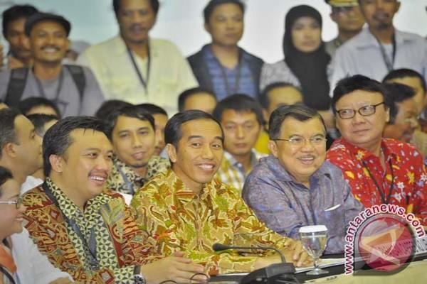 SBY orang pertama ucapkan selamat pada Jokowi-JK