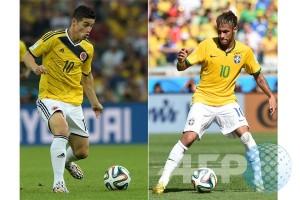 Brasil andalkan duet Firmino-Neymar hadapi Kolombia