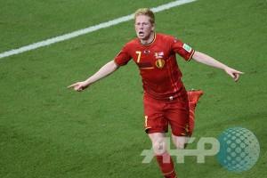 Kevin de Bruyne pimpin Belgia lawan Andorra