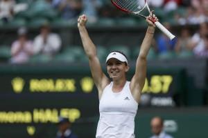 Halep ke final Piala Rogers usai jinakkan Angelique Kerber