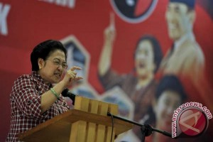 Megawati berikan arahan kepada calon pimpinan DPRD