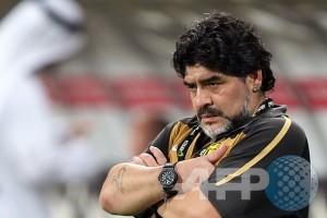 Maradona ditinggalkan ayahnya untuk selama-lamanya