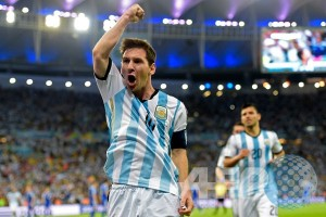 Copa America - Babak pertama Argentina ungguli AS 2-0