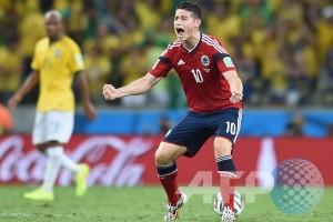 Kolombia balas gol via penalti, skor 2-1