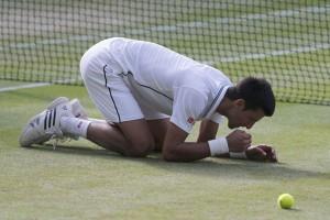Statistik laga final Djokovic versus Federer