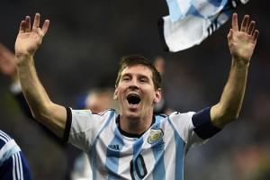 Argentina vs Cile imbang 0-0 di babak pertama